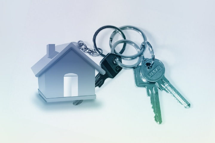домик и ключи